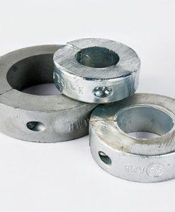 Wellenanoden-Ringe Zink