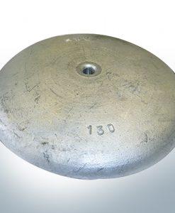 Scheibenanoden Ø 130mm | M8 (AlZn5In)