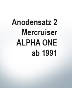 Anodensatz | Mercruiser ALPHA ONE ab 1991 (AlZn5In)