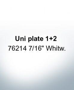 "Anoden kompatibel zu Mercury   Uni Platte 1+2 76214 7/16"" Whitw. (AlZn5In)"