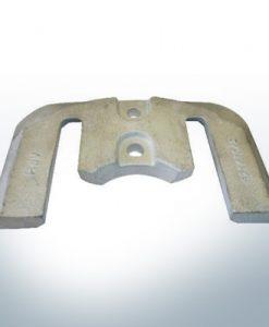 Anoden kompatibel zu Mercury   Anodenplatte 1+2 821630 (AlZn5In)