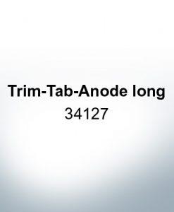 Anoden kompatibel zu Mercury   Trimmanode lang 34127 (AlZn5In)