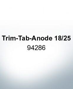 Anoden kompatibel zu Mercury   Trimmanode 18/25 94286 (AlZn5In)