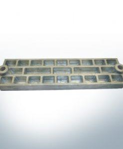 Anoden kompatibel zu Mercury   Gitteranode 43396 (AlZn5In)