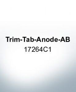 Anoden kompatibel zu Mercury | Trimmanode-AB 17264C1 (AlZn5In)