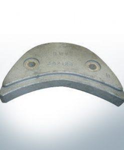 Anoden kompatibel zu Mercury | Anodenplatte Ev/Jo 392123 (AlZn5In)
