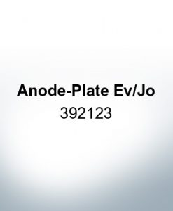 Anoden kompatibel zu Mercury | Anodenplatte Ev/Jo 392123 (Zink)