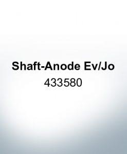Anoden kompatibel zu Mercury   Schaftanode Ev/Jo 433580 (AlZn5In)