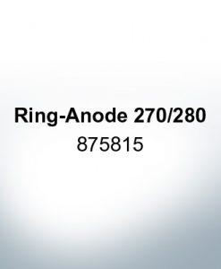 Anoden kompatibel zu Volvo Penta   Ringanode 270/280 875815 (AlZn5In)