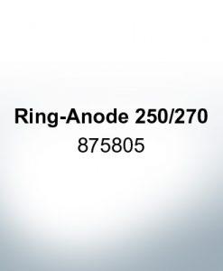 Anoden kompatibel zu Volvo Penta | Ringanode 250/270 875805 (Zink)