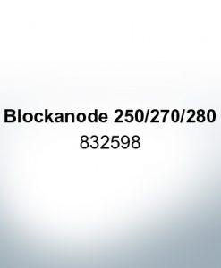 Anoden kompatibel zu Volvo Penta | Blockanode 250/270/280 832598 (AlZn5In)