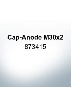 Anoden kompatibel zu Volvo Penta   Hutanode M30x2 873415 (Zink)