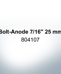 "Anoden kompatibel zu Volvo Penta | Stiftanode 7/16"" 25mm 804107 (AlZn5In)"