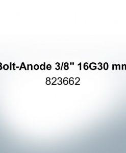 """Anoden kompatibel zu Volvo Penta   Stiftanode 3/8"""" 16G30mm 823662 (Zink)"""
