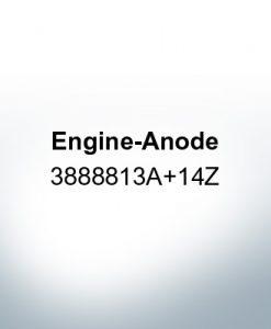 Anoden kompatibel zu Volvo Penta | Antriebsanode 3888813A+14Z (AlZn5In)