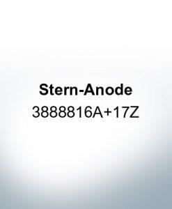 Anoden kompatibel zu Volvo Penta | Heckanode 3888816A+17Z (AlZn5In)