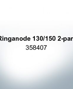Anoden kompatibel zu Volvo Penta | Ringanode 130/150 2-part 358407 (AlZn5In)