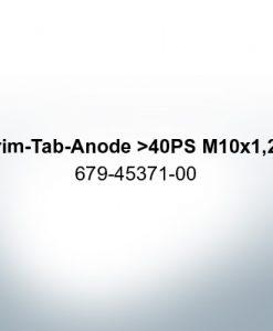 Anoden kompatibel zu Yamaha and Yanmar   Trimmanode