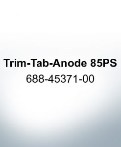 Anoden kompatibel zu Yamaha and Yanmar   Trimmanode 85PS 688-45371-00 (Zink)