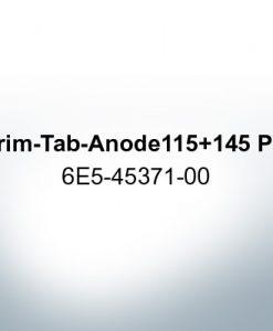 Anoden kompatibel zu Yamaha and Yanmar   Trimmanode 115+145 PS 6E5-45371-00 (AlZn5In)