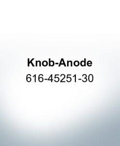 Anoden kompatibel zu Yamaha and Yanmar | Knopfanode 616-45251-30 (AlZn5In)
