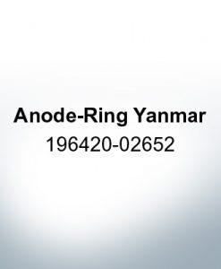 Anoden kompatibel zu Yamaha and Yanmar | Anodenring Yanmar 196420-02652 (AlZn5In)