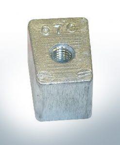Anoden kompatibel zu Yamaha and Yanmar | Anodenblöckchen 40-50PS 67C (AlZn5In)