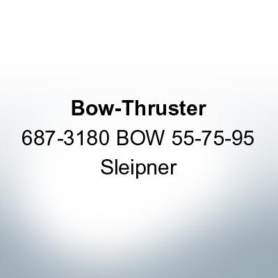 Bow-Thruster 687-3180 BOW 55-75-95 Sleipner (Zinc)