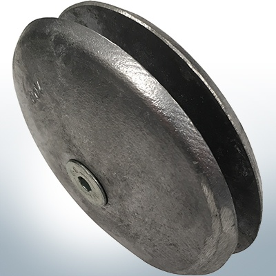 Disk-Anodes Ø 100mm | Bundle (AlZn5In) | 9800AL 9801AL