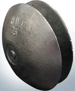 Disk-Anodes Ø 75mm | Bundle (AlZn5In) | 9805AL 9806AL