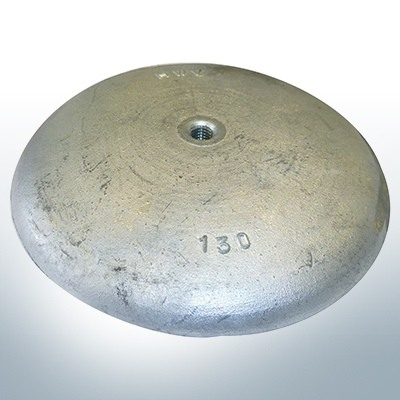 Disc anodes Ø 130mm | M8 (Zinc) | 9814
