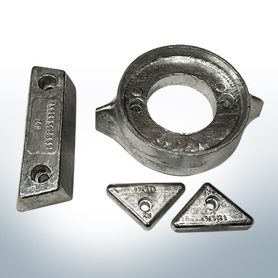 Sets of anodes | Volvo 290 (Zinc) | 9204 9205 9228