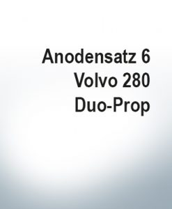 Sets of anodes | Volvo 280 Duo-Prop (AlZn5In) | 9203AL 9207AL