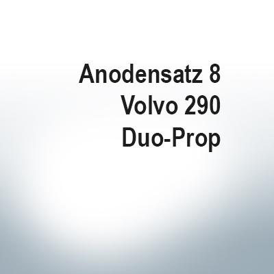 Sets of anodes | Volvo 290 Duo-Prop (AlZn5In) | 9203AL 9204AL 9228AL