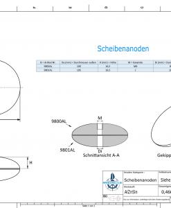 Disk-Anodes Ø 130mm | Bundle (AlZn5In) | 9814AL 9815AL