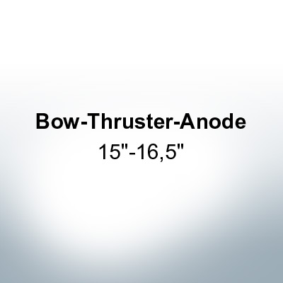 "Anodes compatible to Gori | Bow-Thruster-Anode 15""-16,5"" 