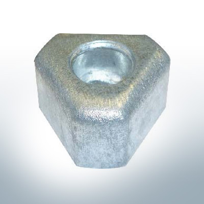 """Anodes compatible to Gori   Bow-Thruster-Anode 18""""-20""""  1473510000  1407310000   (AlZn5In)   9625AL"""