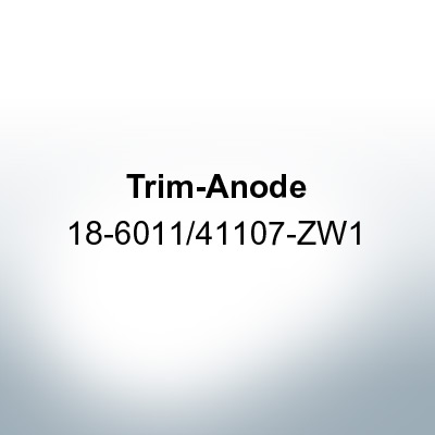Anodes compatible to Honda | Trim-Anode 18-6011/41107-ZW1 (AlZn5In) | 9543AL