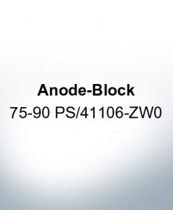 Anodes compatible to Honda | Anode-Block 75-90 PS/41106-ZW0 (Zinc) | 9548