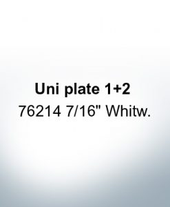 Anodes compatible to Mercury | Uni plate 1 2 76214 7/16