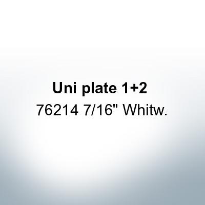 "Anodes compatible to Mercury   Uni plate 1 2 76214 7/16"" Whitw. (Zinc)   9701"
