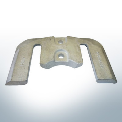 Anodes compatible to Mercury | Anode-Plate 1 2 821630 (Zinc) | 9702