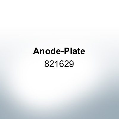 Anodes compatible to Mercury | Anode-Plate 821629 (AlZn5In) | 9703AL