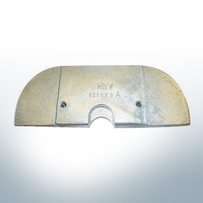 Anodes compatible to Mercury | Anode-Plate 821629 (Zinc) | 9703