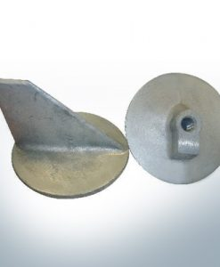 "Anodes compatible to Mercury | Trim-Tab-Anode short 31640 7/16"" (AlZn5In) 