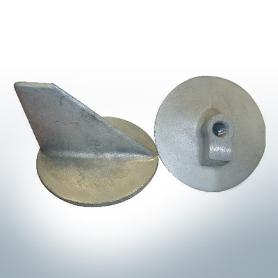 Anodes compatible to Mercury | Trim-Tab-Anode 40 31640 (AlZn5In) | 9715AL