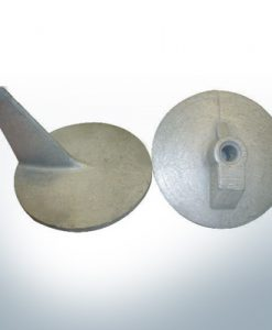 Anodes compatible to Mercury   Trim-Tab-Anode QSS 46399 (AlZn5In)   9707AL