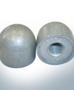 "Anodes compatible to Mercury | Cap-Anode 1/2"" 55989 (AlZn5In) 
