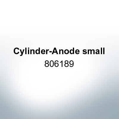 Anodes compatible to Mercury   Cylinder-Anode small 806189 (Zinc)   9713