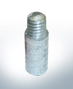 Anodes compatible to Mercury | Bolt-Anode (cooling) 811487 (AlZn5In) | 9714AL